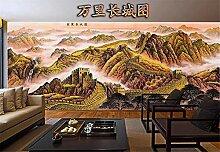 Fototapete 3D Tapeten Wandbilder Große Mauer