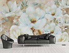 Fototapete 3D Tapeten Wandbilder Handgemalte Blume