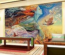Fototapete 3D Tapeten Wandbilder Ölgemälde