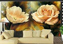 Fototapete 3D Tapeten Wandbilder Ölgemälde Stieg