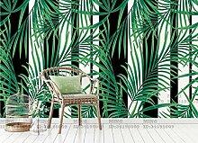 Fototapete 3D Tapeten Wandbilder Tropische Pflanze