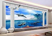Fototapete 3D Tapeten Wandbilder Unterwasserwelt