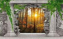 Fototapete 3D Tapeten Wandbilder Wandhöhle