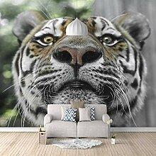 Fototapete 3D Tiger 3D Wandbilder Für Fernseher
