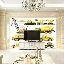 Fototapete 3D Traktor Design Tapete Fototapeten