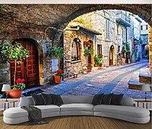 Fototapete 3D Vliestapete Wandtapete Italien Stadt