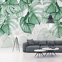 Fototapete 3D Wallpaper handgemalte tropische