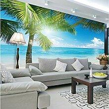 Fototapete 3d Wandbild Blick aufs Meer Wandtapete