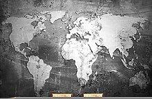 Fototapete 3d Wandbild Karte Wandtapete Design
