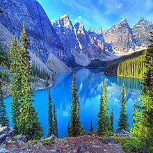 Fototapete 3d Wandbild Landschaft Wandtapete