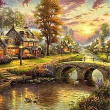 Fototapete 3d Wandbild Ölgemälde Nachlass