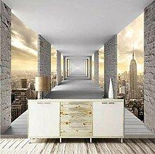 Fototapete 3d Wandbild Promenade Wandtapete Design