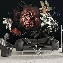 Fototapete 3D Wandbild Tapete Blumen Tapete Für