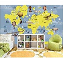 Fototapete 3D Weltkarte Wandbilder Tapete Für