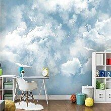 Fototapete 3D Wolken Design Tapete Fototapeten