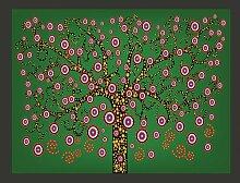 Fototapete Abstrakt: Baum 154 cm x 200 cm