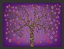 Fototapete Abstrakt: Baum 231 cm x 300 cm East