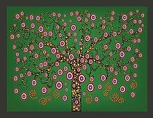 Fototapete Abstrakt: Baum 309 cm x 400 cm