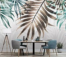 Fototapete Abstrakte Blätter Tapete Wandkunst