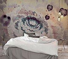 Fototapete Abstrakte Retro Blume Hintergrund