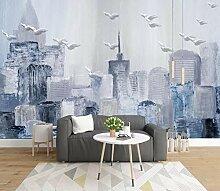 Fototapete Abstrakte Stadt Tapete Wandkunst