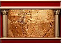 Fototapete Ägyptische Mauer World Menagerie