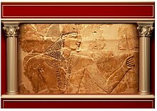 Fototapete Ägyptische Mauer