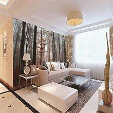 Fototapete Ahornwald Moderne Wandbild Tapete 3D -