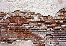 Fototapete Alte Mauer 2.54 m x 368 cm