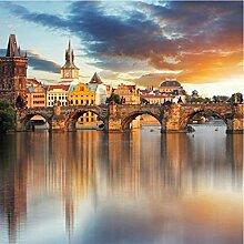 Fototapete Alte Stadt-nichtgewebte nahtlose