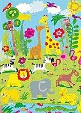 Fototapete Animal Safari (4tlg.)