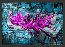 Fototapete Anonymous graffiti 210 cm x 300 cm