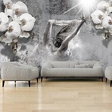 Fototapete - Arrangement with orchid
