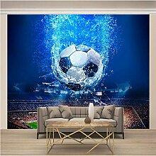 Fototapete art Blauer Fußball 450x350cm 3D Vlies