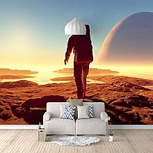 Fototapete Astronaut 3D Wandbilder Für Fernseher
