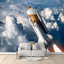 Fototapete Aus den Wolken Mauer Fresco Foto