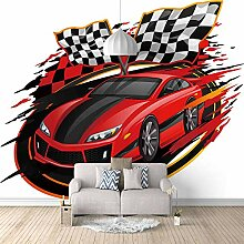 Fototapete Auto Moderne Wandbild Tapete 3D -