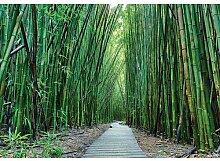 Fototapete Bambus 1.46 m x 208 cm East Urban Home