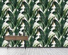 Fototapete Bananenblatt der Tropenwaldpflanze