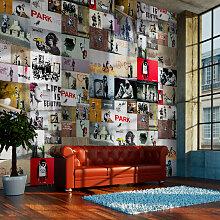 Fototapete - Banksy - a collage
