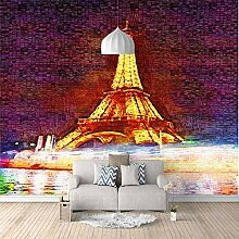 Fototapete Beleuchtete Turmlandschaft Mauer Fresco