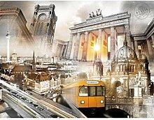Fototapete Berlin 352 x 250 cm - Vlies Wand Tapete