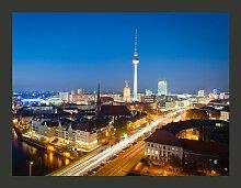 Fototapete Berlin by night 154 cm x 200 cm East