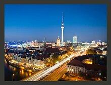 Fototapete Berlin by night 193 cm x 250 cm East