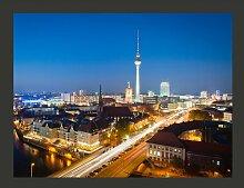 Fototapete Berlin by night 231 cm x 300 cm