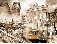 Fototapete Berlin - Vlies Wand Tapete Wohnzimmer