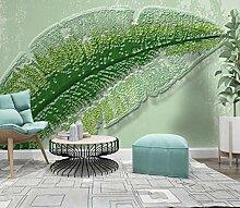 Fototapete Blätter 3D Vlies Tapete Moderne