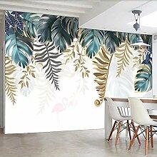 Fototapete Blätter 3D Wandbilder Für Fernseher