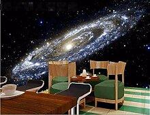 Fototapete Blaue Galaxie Mauer Fresco Foto