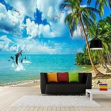 Fototapete Blauer Himmel, Meer, Strand Wandbilder